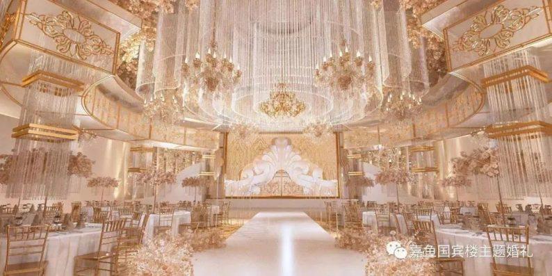婚礼堂发布:嘉鱼国宾楼,六线城市一站式主题婚礼堂  第5张