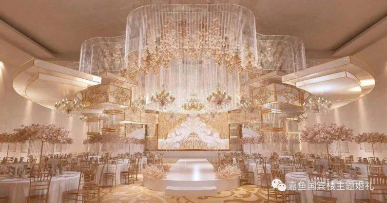 婚礼堂发布:嘉鱼国宾楼,六线城市一站式主题婚礼堂  第6张