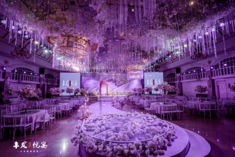婚礼堂发布:耗资百万!丰发酒店打造全新宴会厅  第3张