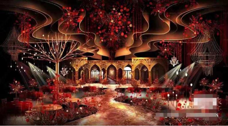 婚礼堂发布:耗资百万!丰发酒店打造全新宴会厅  第7张