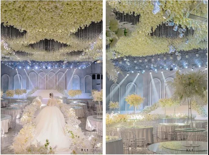 婚礼堂发布:6000平米、3大主题厅!洛阳喜事汇婚宴酒店  第13张
