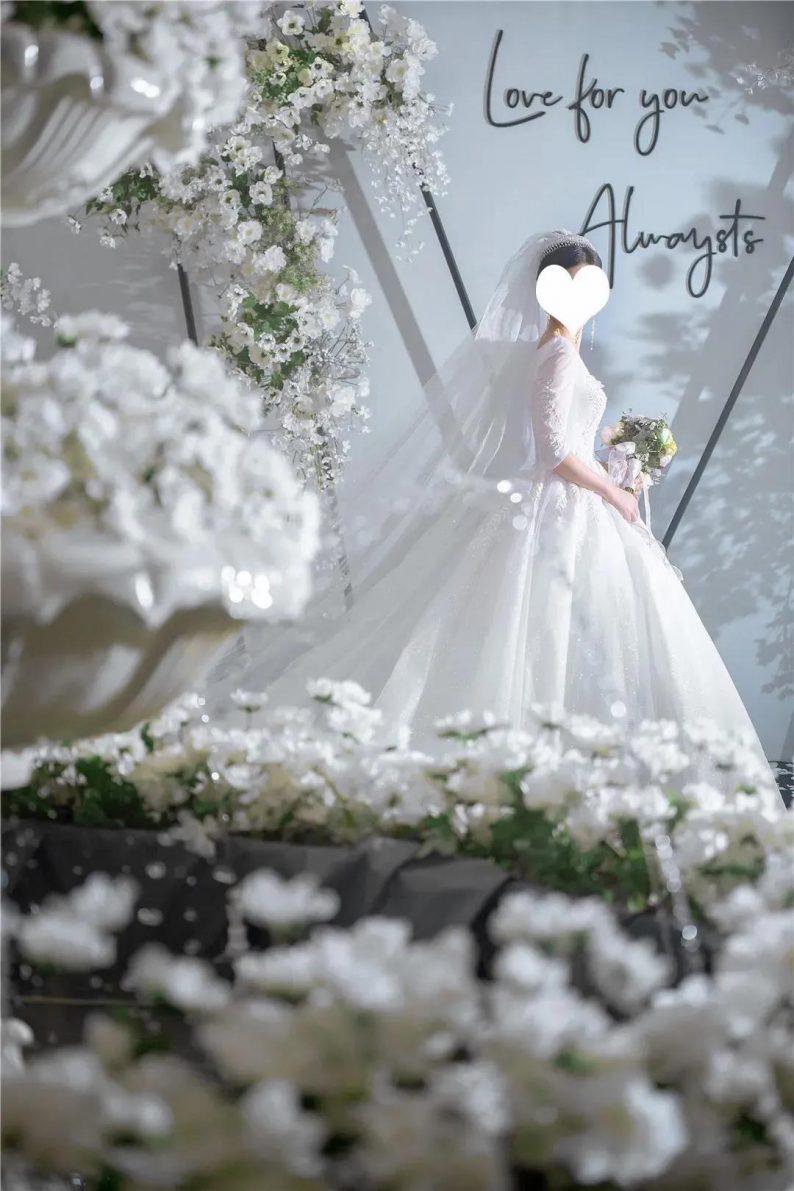 质感高级的韩式婚礼!