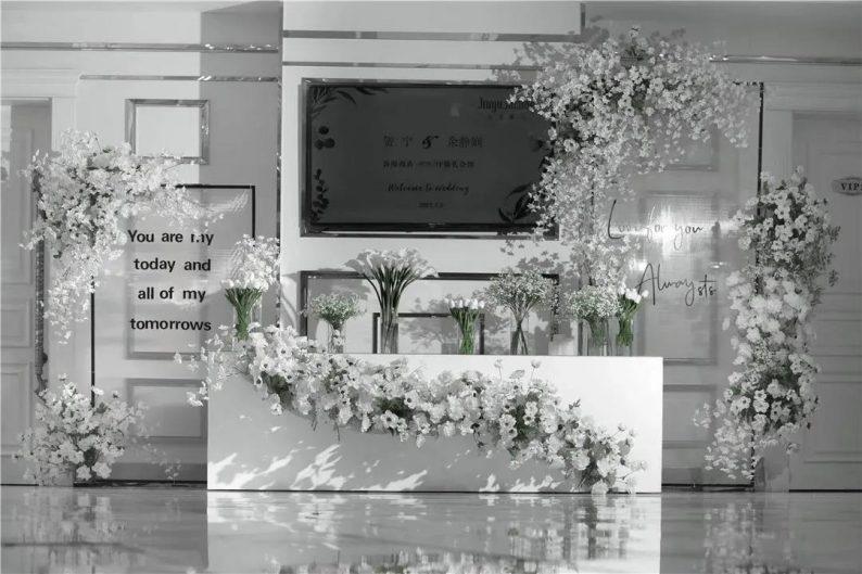 质感高级的韩式婚礼!  第2张