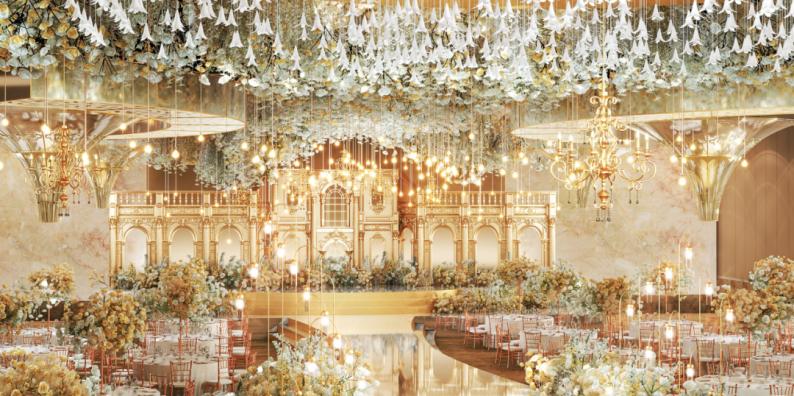 婚礼堂发布:超1万平、8大主题厅!开创湖南宴会产品新时代  第2张