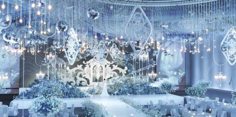 婚礼堂发布:超1万平、8大主题厅!开创湖南宴会产品新时代  第4张