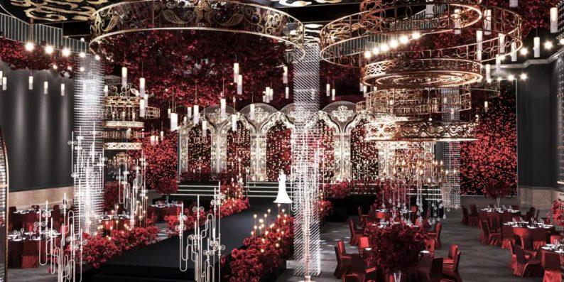 婚礼堂发布:超1万平、8大主题厅!开创湖南宴会产品新时代  第11张