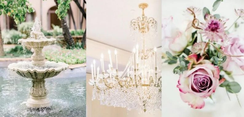 婚礼堂发布:欧洲浪漫主义花园风!悦合嘉俪打造「精灵花园」  第3张