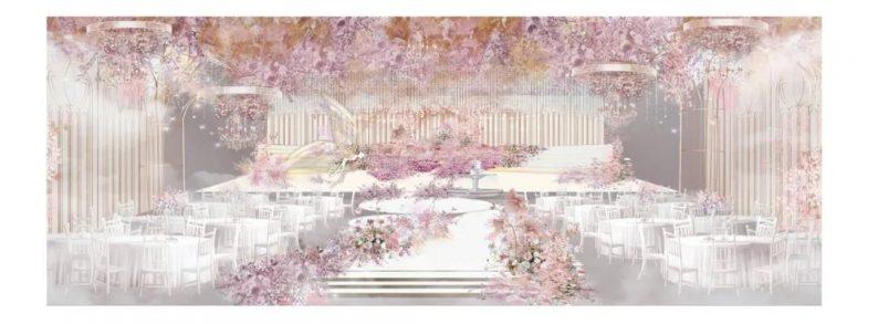 婚礼堂发布:欧洲浪漫主义花园风!悦合嘉俪打造「精灵花园」  第6张