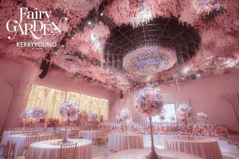 婚礼堂发布:欧洲浪漫主义花园风!悦合嘉俪打造「精灵花园」  第7张