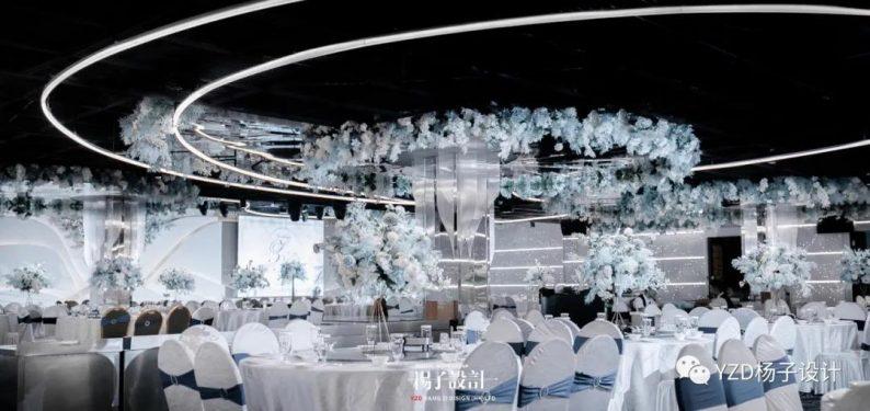 婚礼堂发布:贵阳鸿福盛宴步步高厅设计解读  第2张