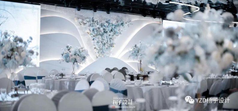 婚礼堂发布:贵阳鸿福盛宴步步高厅设计解读  第4张
