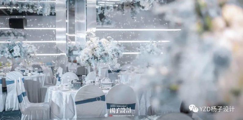 婚礼堂发布:贵阳鸿福盛宴步步高厅设计解读  第5张