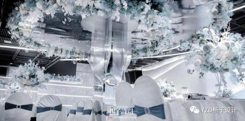婚礼堂发布:贵阳鸿福盛宴步步高厅设计解读  第6张