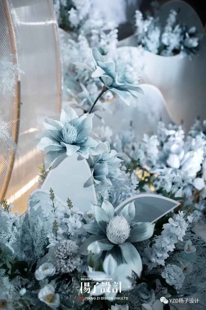 婚礼堂发布:贵阳鸿福盛宴步步高厅设计解读  第7张