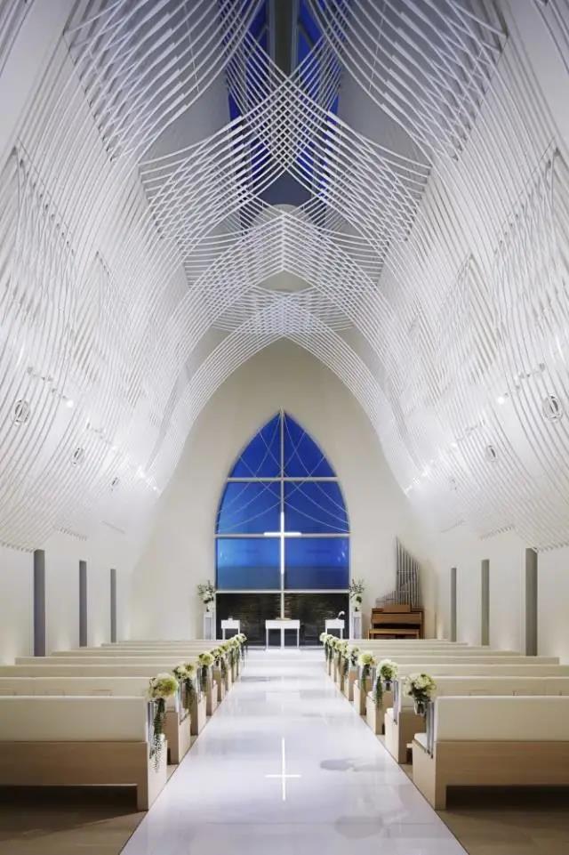 婚礼堂发布:日本St. Voile教堂设计解读
