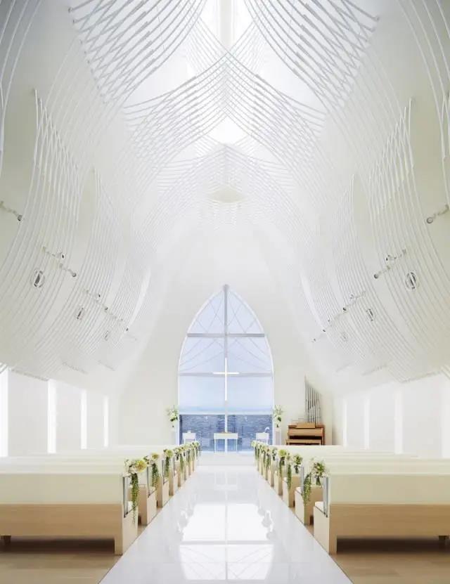 婚礼堂发布:日本St. Voile教堂设计解读  第6张