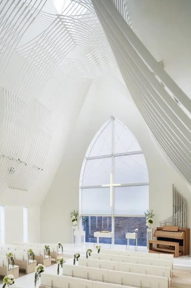 婚礼堂发布:日本St. Voile教堂设计解读  第7张