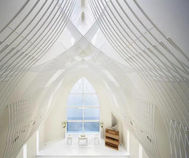 婚礼堂发布:日本St. Voile教堂设计解读  第9张