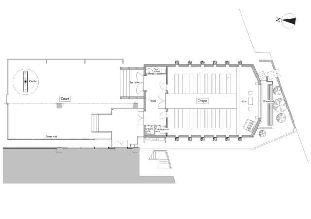 婚礼堂发布:日本St. Voile教堂设计解读  第13张