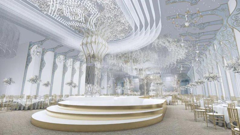婚礼堂发布:5000平米、4大宴会厅!红绣球礼宴中心简介
