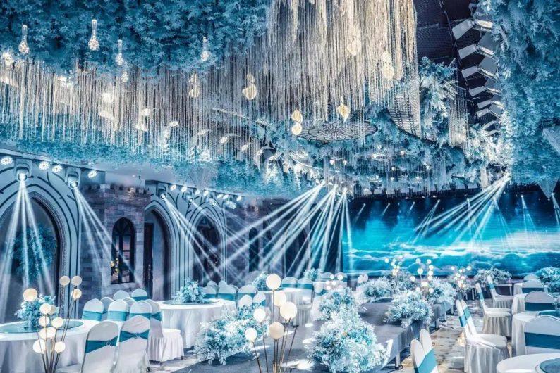 婚礼堂发布:5大宴会厅!盐城一站式婚礼主题酒店
