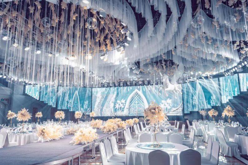 婚礼堂发布:5大宴会厅!盐城一站式婚礼主题酒店  第2张