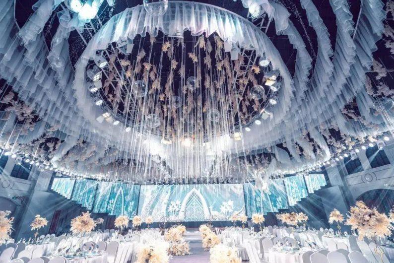 婚礼堂发布:5大宴会厅!盐城一站式婚礼主题酒店  第4张