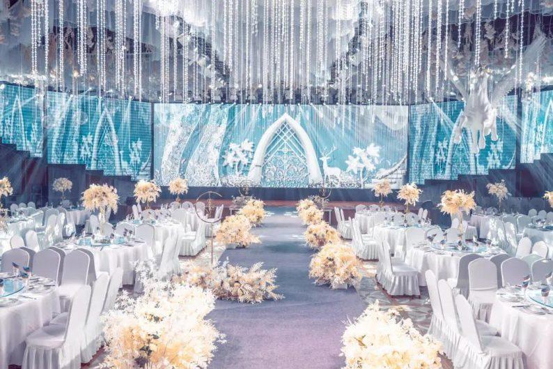 婚礼堂发布:5大宴会厅!盐城一站式婚礼主题酒店  第5张