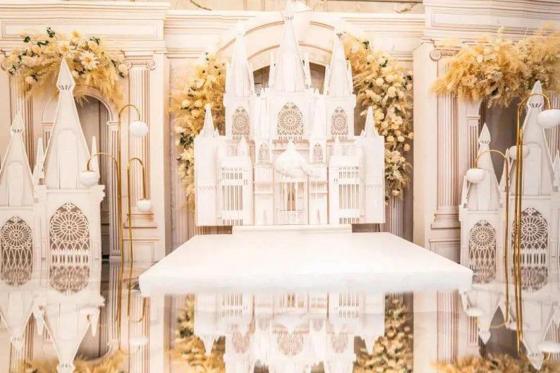 婚礼堂发布:5大宴会厅!盐城一站式婚礼主题酒店  第7张