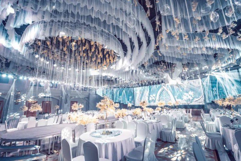 婚礼堂发布:5大宴会厅!盐城一站式婚礼主题酒店  第8张