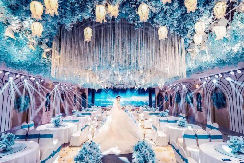婚礼堂发布:5大宴会厅!盐城一站式婚礼主题酒店  第15张