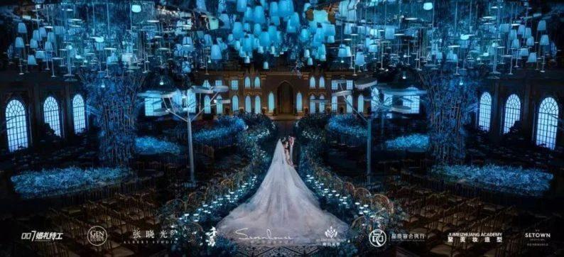 婚礼堂发布:8大宴会厅、徐丹打造!国内一流潮牌婚礼堂