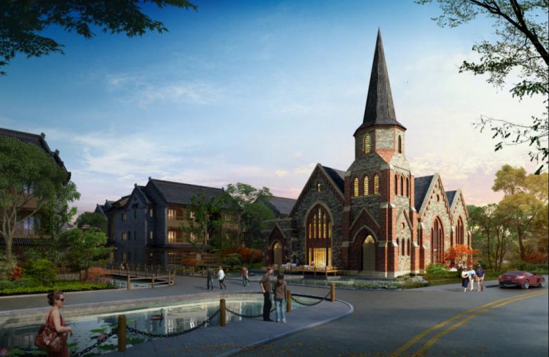 婚礼堂发布:日照 · 东方太阳城规划设计  第2张