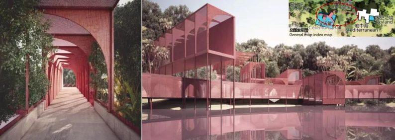 婚礼堂发布:日照 · 东方太阳城规划设计  第13张