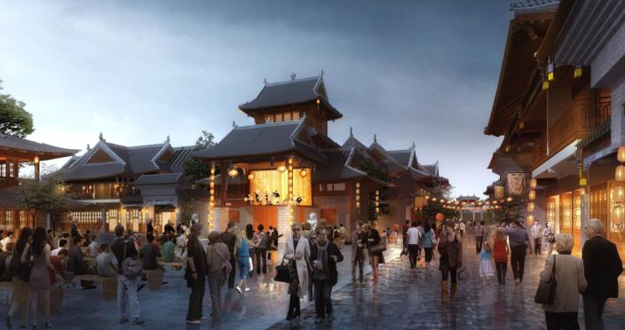 婚礼堂发布:日照 · 东方太阳城规划设计  第28张