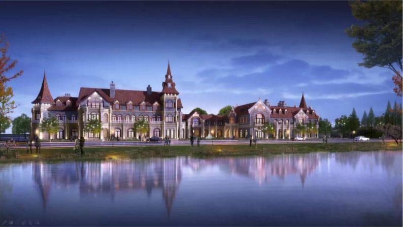 婚礼堂发布:日照 · 东方太阳城规划设计  第30张