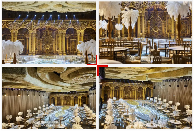 婚礼堂发布:赖梓愈、蔡上设计!占地8000平,万和集团旗下婚礼堂  第12张