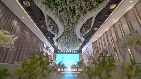 婚礼堂发布:5大主题厅,宁波梁祝文化小镇内的婚宴酒店  第6张