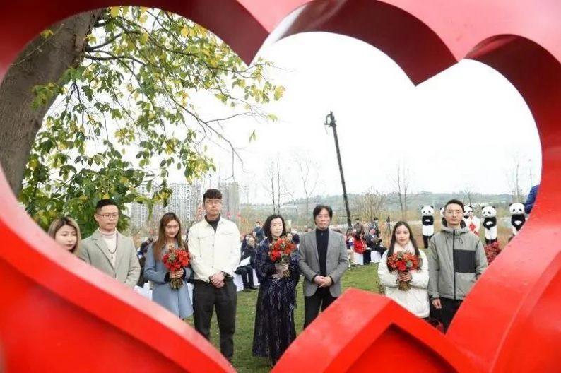 深化打造爱情主题,成都首个市级古树公园来了!  第4张
