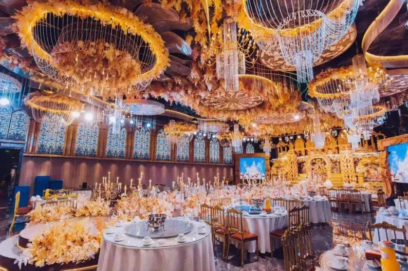 婚礼堂发布:5大宴会厅,3600平米!西北地区一站式婚宴酒店
