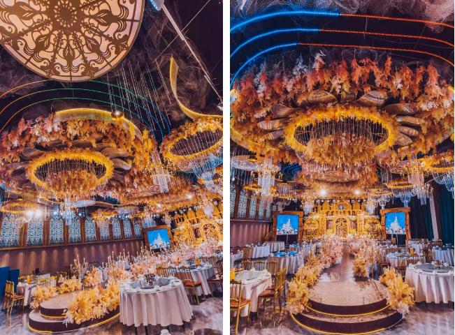 婚礼堂发布:5大宴会厅,3600平米!西北地区一站式婚宴酒店  第4张