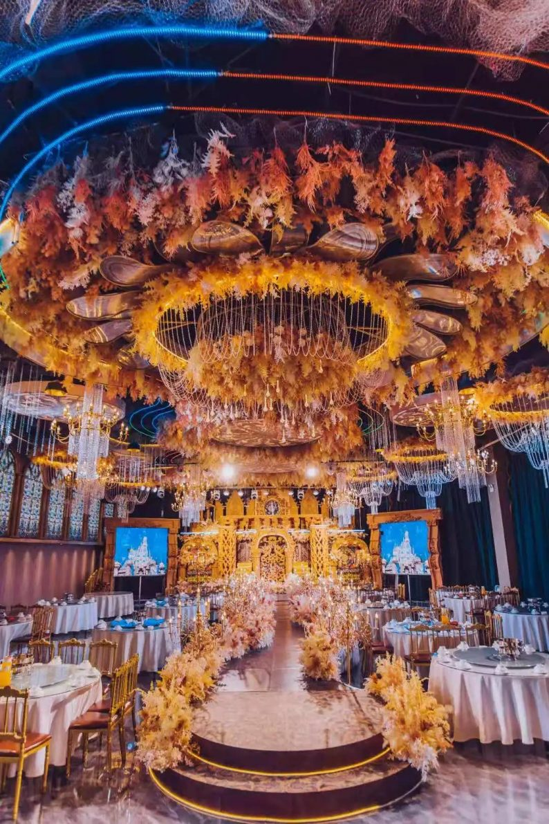 婚礼堂发布:5大宴会厅,3600平米!西北地区一站式婚宴酒店  第7张