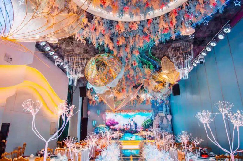 婚礼堂发布:5大宴会厅,3600平米!西北地区一站式婚宴酒店  第10张