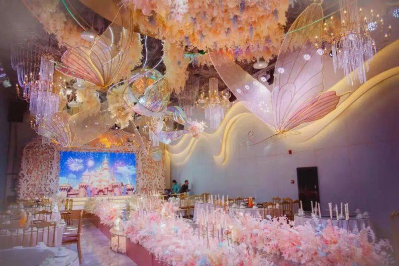 婚礼堂发布:5大宴会厅,3600平米!西北地区一站式婚宴酒店  第12张