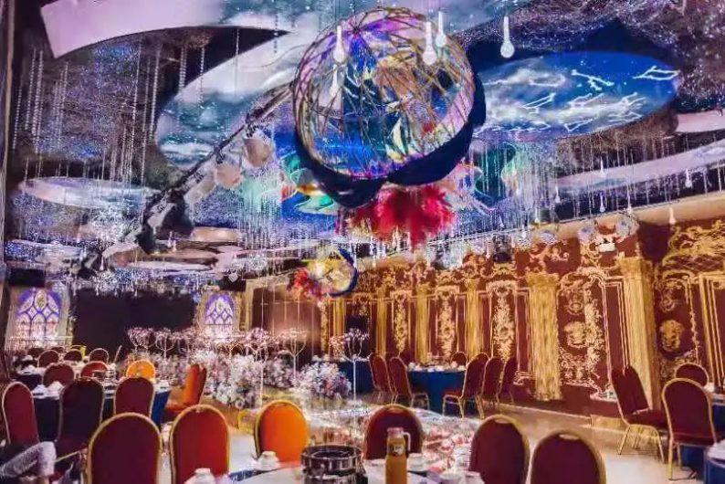 婚礼堂发布:5大宴会厅,3600平米!西北地区一站式婚宴酒店  第13张