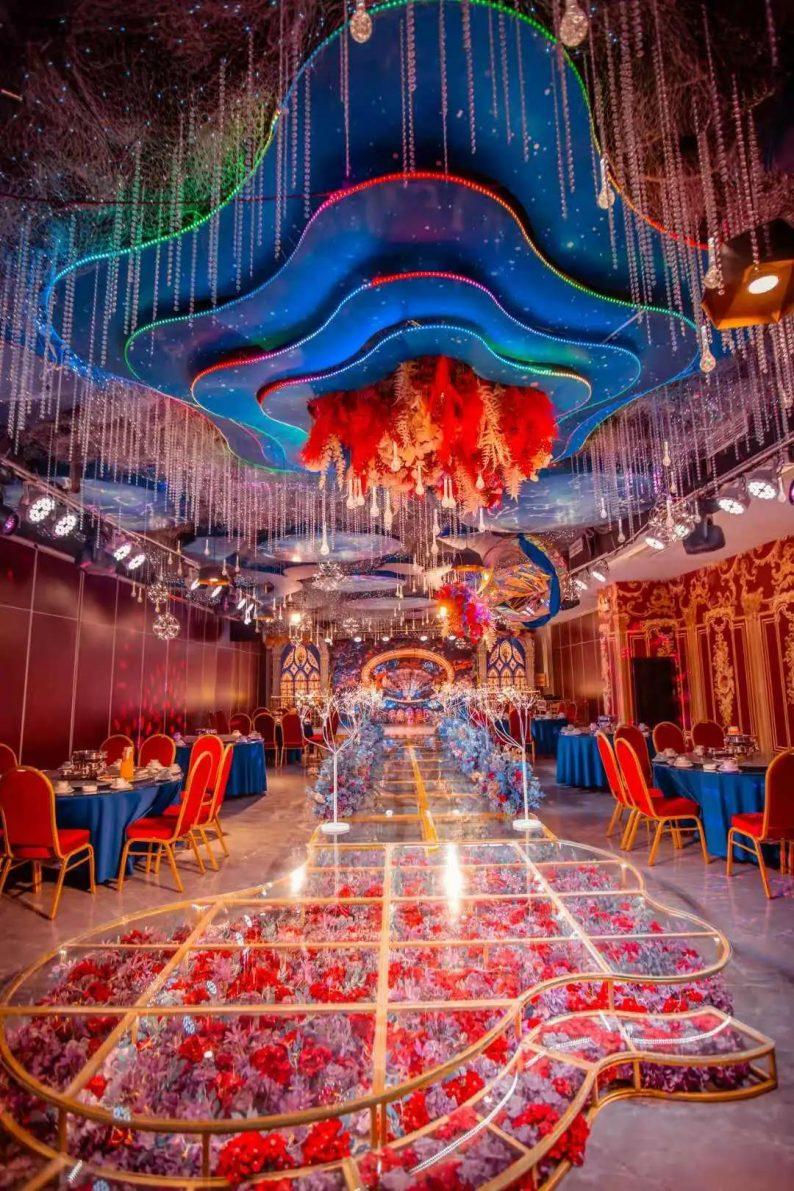 婚礼堂发布:5大宴会厅,3600平米!西北地区一站式婚宴酒店  第14张