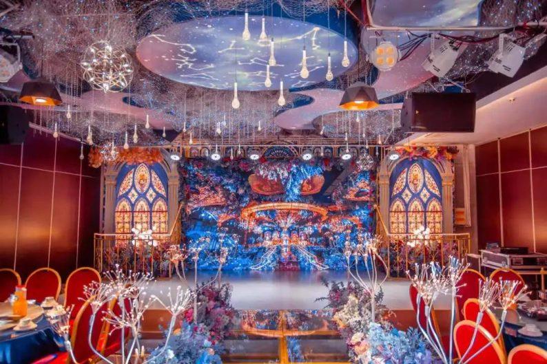 婚礼堂发布:5大宴会厅,3600平米!西北地区一站式婚宴酒店  第15张
