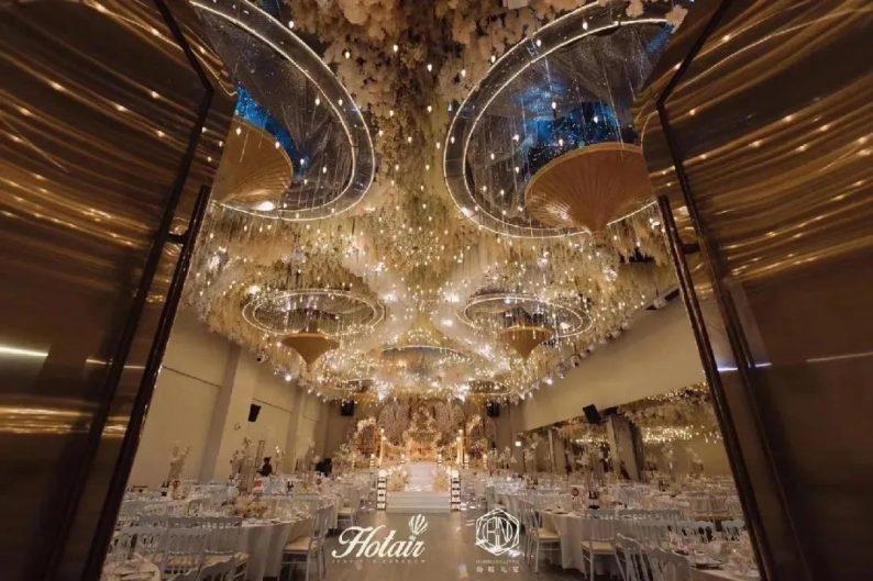 婚礼堂发布:4大主题厅!中山百万级奢华婚宴酒店