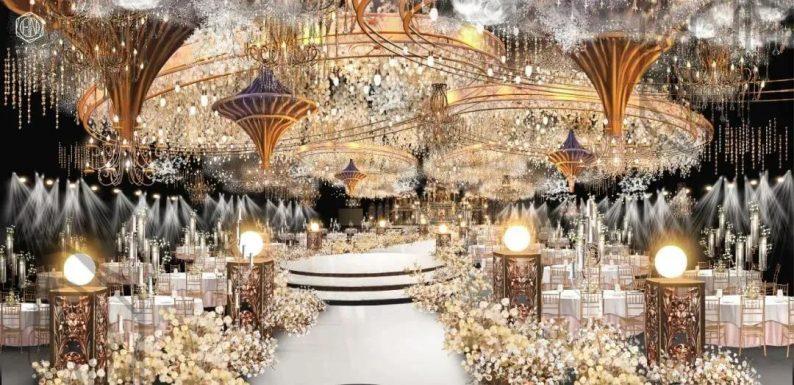 婚礼堂发布:4大主题厅!中山百万级奢华婚宴酒店  第6张