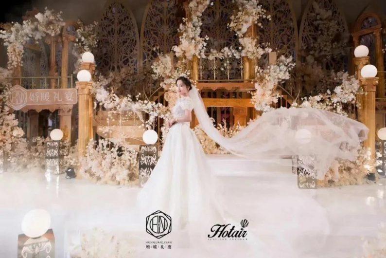 婚礼堂发布:4大主题厅!中山百万级奢华婚宴酒店  第8张